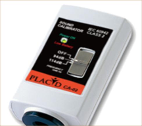 เครื่องมือสอบเทียบเครื่องวัดระดับเสียง CA-02